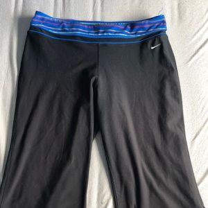 Nike wide leg workout pants
